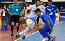 CLB Thái Sơn Nam dừng bước ở bán kết giải futsal các CLB Châu Á 2017