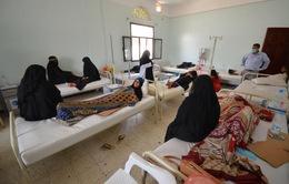 Dịch tả tại Yemen diễn biến phức tạp