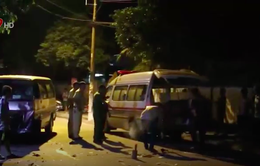 TP.HCM: Tông vào ô tô, 1 người tử vong
