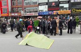 Hà Nội: Nữ sinh lớp 12 đi xe đạp điện bị xe bồn cán tử vong