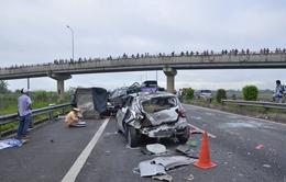 Tai nạn giao thông trên tuyến cao tốc Hà Nội-Hải Phòng, 3 người thương vong