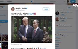 """Việt Nam xuất hiện trong video """"Cảm ơn châu Á"""" của Donald Trump"""