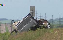 13 người thiệt mạng trong vụ tai nạn giao thông tại Nga