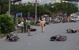 Tình hình giao thông diễn biến phức tạp trong ngày 31/12