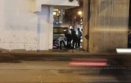 Xác định nạn nhân rơi từ công trường đường sắt Cát Linh - Hà Đông