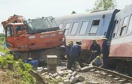 Tuyến đường sắt Bắc-Nam đã thông tuyến trở lại sau khắc phục sự cố lật tàu ở Quảng Bình