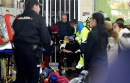 Tai nạn tàu hỏa ở Tây Ban Nha, 45 người bị thương