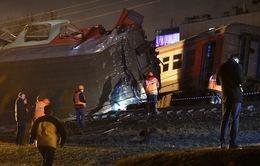 Tai nạn tàu hỏa ở Nga, ít nhất 20 người bị thương