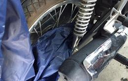 Nhiều vụ tai nạn do áo mưa gây ra