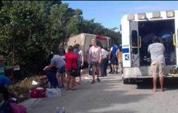 Mexico: Tai nạn xe bus thảm khốc, ít nhất 30 người thương vong