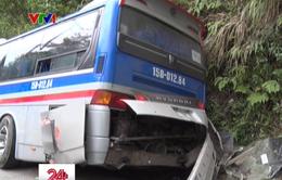 Tai nạn xe khách ở Vĩnh Phúc, 2 người thiệt mạng