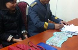 Hai hành khách cùng bỏ quên 40 triệu đồng trên tàu