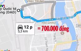 """Đình chỉ tài xế taxi """"chặt chém"""" du khách Hàn Quốc tại Đà Nẵng"""