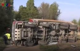 Tai nạn tàu hỏa tại Đức, 14 người bị thương