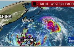 Đài Loan (Trung Quốc) chuẩn bị ứng phó bão Talim