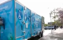 Nhà tắm lưu động miễn phí dành cho người vô gia cư tại Mỹ