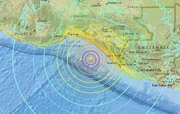 Động đất mạnh 8,1 độ Richter tại Mexico, ít nhất 5 người thiệt mạng