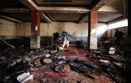 IS nhận trách nhiệm vụ đánh bom ở Afghanistan