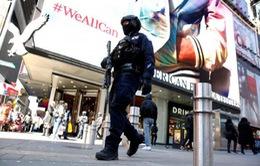 New York tăng cường an ninh sau khủng bố tại Anh