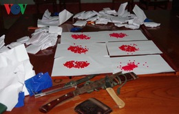 Bộ đội biên phòng Kon Tum bắt giữ hơn 10.000 viên ma túy tổng hợp