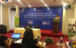 Đà Nẵng tập huấn lễ tân cho 18 khách sạn đón nguyên thủ quốc gia dự APEC