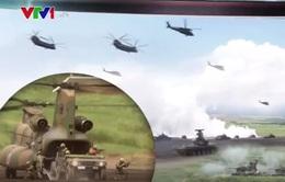 Lực lượng phòng vệ mặt đất Nhật Bản tập trận