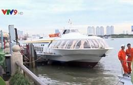 Hôm nay (1/1), tàu cánh ngầm tuyến TP. HCM - Vũng Tàu dừng hoạt động