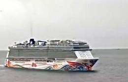 Tàu du lịch lớn nhất châu Á hoàn thành chuyến đi đầu tiên