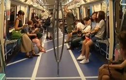 Ngộ nghĩnh đoàn tàu điện ngầm chủ đề thể thao tại Trung Quốc
