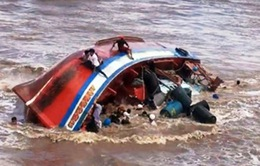 Còn 1 nạn nhân mất tích trong vụ chìm tàu ở Bạc Liêu