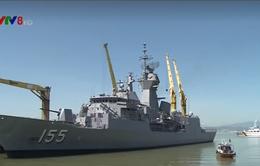 Tàu Hải quân Hoàng gia Australia thăm Đà Nẵng