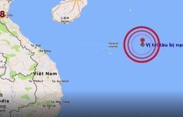 Hải quân Việt Nam và Trung Quốc phối hợp tìm kiếm 5 ngư dân Bình Định mất tích