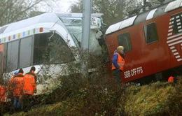 Hai tàu đâm nhau ở Thụy Sĩ, 30 người bị thương