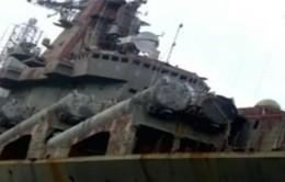 Ukraine bán sắt vụn tàu tuần dương hạng nặng