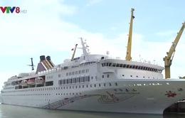 Tàu Du lịch Chinese Taishan cập cảng Tiên Sa, Đà Nẵng