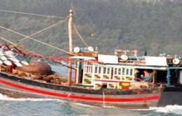 Cứu 13 thuyền viên gặp nạn trên vùng biển Côn Đảo