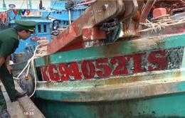 Bà Rịa - Vũng Tàu: Phát hiện 4 ghe tàu sang Malaysia đánh cá trái phép