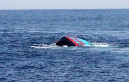 Cứu được 1 thuyền viên tàu cá bị chìm tại Vũng Tàu