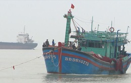 Vùng 3 Hải quân cứu hộ tàu cá Bình Định và 16 ngư dân gặp nạn