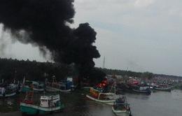 Kiên Giang: 3 tàu cá cháy do chập điện, thiệt hại 15 tỷ đồng