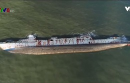 Bình Định đề nghị Bộ GTVT chỉ đạo đẩy nhanh trục vớt tàu chìm