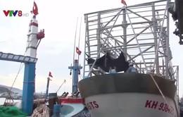 Miền Trung đẩy mạnh đóng tàu Composite