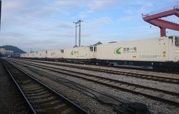 Đường sắt Việt Nam khai trương chuyến tàu container chuyên tuyến đầu tiên đi Trung Quốc