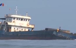 Tàu chở than mắc cạn tại Huế: Chưa có hiện tượng tràn dầu