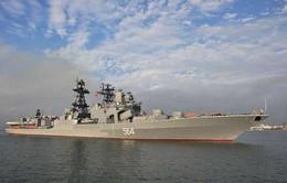 Tàu hải quân Nga thăm Philippines