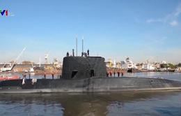 Hy vọng mong manh tìm thấy tàu ngầm Argentina