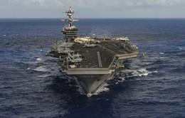 Hàn Quốc xác nhận Mỹ đưa tàu sân bay đến bán đảo Triều Tiên