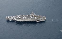Tàu sân bay Mỹ đến Israel hỗ trợ cuộc chiến chống khủng bố
