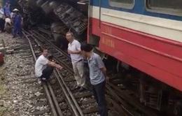 Đã xác định nguyên nhân 2 lần tàu trật bánh ở ga Yên Viên