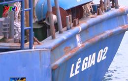 Bình Định: Tàu vỏ thép tiền tỷ mới ra khơi đã hư hỏng nặng